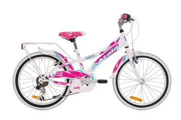 "Picture of Atala Beverly 20"" bici bambino Donna 6v acciaio 2018"