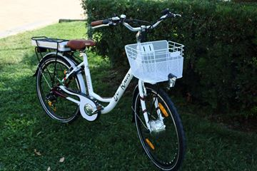 "Picture of Di Ruvo Brezza bici elettrica Donna 26"" litio 36v e-bike"