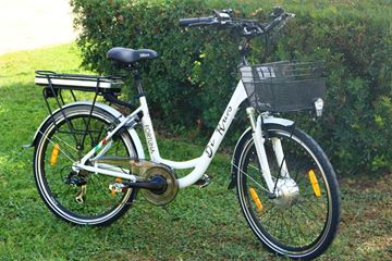 "Picture of Di Ruvo Fortuna bici elettrica Donna 26"" litio 36v e-bike"