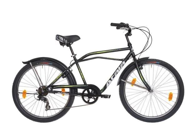 "Picture of Atala Cruiser Uomo 6v city bike 26"" 2020"
