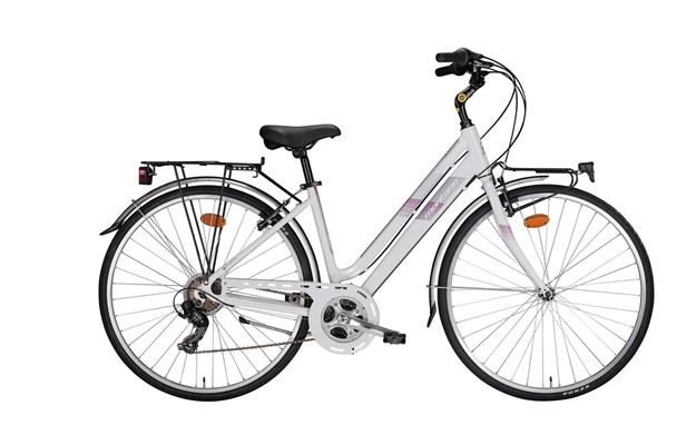 "Picture of Montana Bluecity bici Donna 21v city bike 28"" 2019"