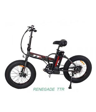 "Picture of TTR Renegade 500w fat bike elettrica 20"" pieghevole"