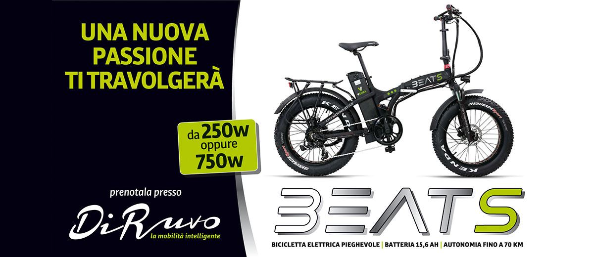 Vedra Beat S fat bike elettrica 750W