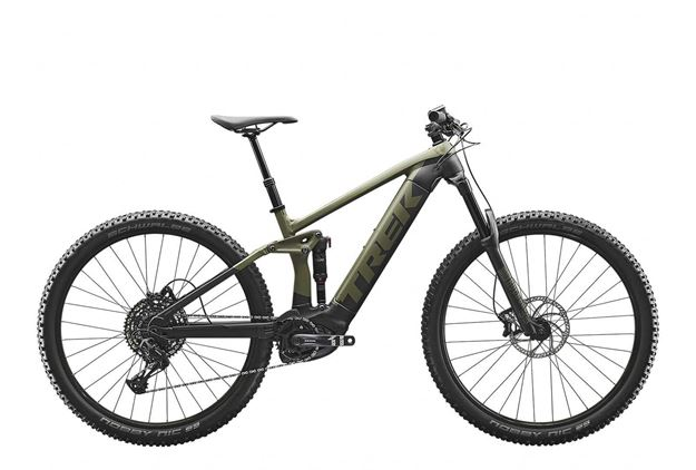 Mountain bike elettrica full suspension motore Bosch